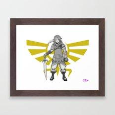 Legend of Zelda - a new Link Framed Art Print