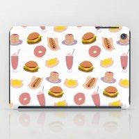 american diner food iPad Case
