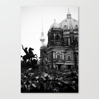 Untitled 26 - Berlin Canvas Print