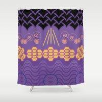 HARMONY Pattern Alt 3 Shower Curtain