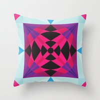 Inner Dancing Throw Pillow