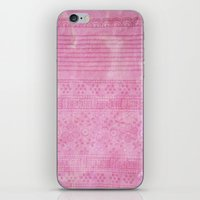 Romantic Pink Painting iPhone & iPod Skin