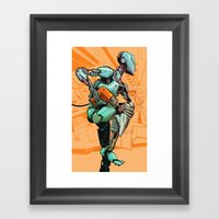 Machine Runner Framed Art Print