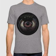 The Mind's Eye  Mens Fitted Tee Athletic Grey SMALL