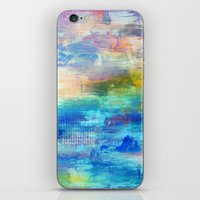 Dawn - Textured Abstract Art iPhone & iPod Skin