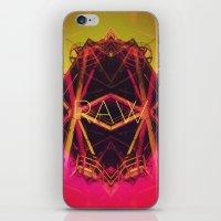 R.A.W. iPhone & iPod Skin