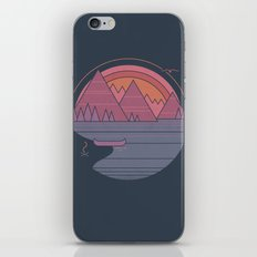 The Mountains are Calling iPhone & iPod Skin