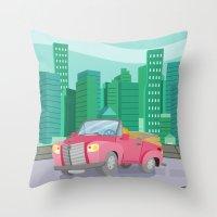 CAR (GROUND VEHICLES) Throw Pillow
