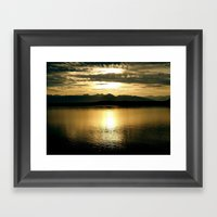 In that Moment, We were Infinite Framed Art Print