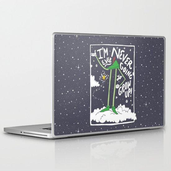 Peter Pan: Never Going to Grow Up! Laptop & iPad Skin