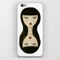 Double  head iPhone & iPod Skin