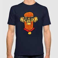 cymankee Mens Fitted Tee Navy SMALL
