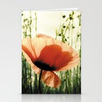 Eclosion De Coquelicot Stationery Cards