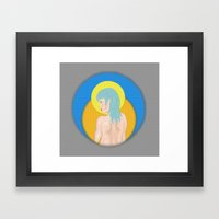 Untitled Once Again Framed Art Print