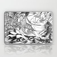 Secret Path / Original A4 Illustration / Pen & Ink Laptop & iPad Skin