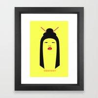 Chn! Framed Art Print