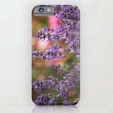 Lavender flowers Slim Case iPhone 6s