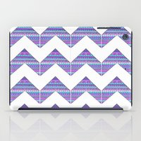 Patterned Chevrons iPad Case