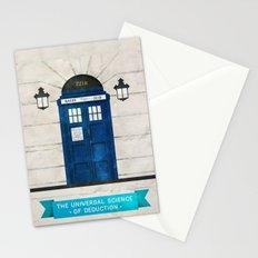 Doctor Who & Sherlock Stationery Cards