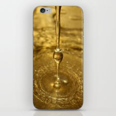 Liquid Gold iPhone & iPod Skin
