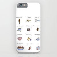 iPhone & iPod Case featuring Foods of Arrested Development - Seasons 1 to 3 by Tyler Feder