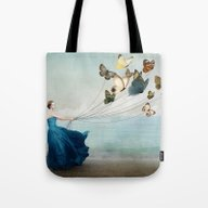 Tote Bag featuring Wonderland by Christian Schloe