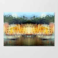 All About Italy. Piece 19 - Portofino Spirit Canvas Print