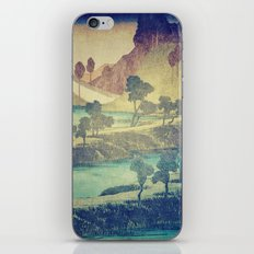 A Valley in the Evening iPhone & iPod Skin
