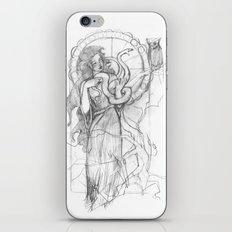 athena doesn't like gorgons iPhone & iPod Skin