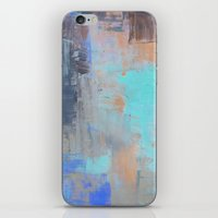 Painterly Blues iPhone & iPod Skin