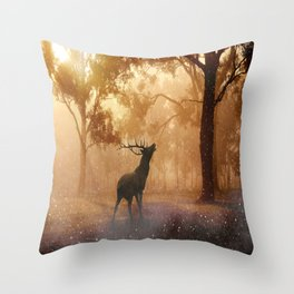 Throw Pillow - Dear my golden velvet  - wowcoco
