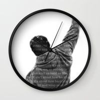 How Hard You Get Hit - Rocky Balboa Wall Clock