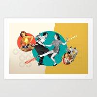Tempi Moderni / Modern T… Art Print