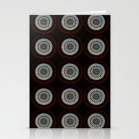 Stained Glass Trip Stationery Cards