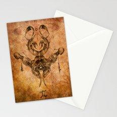 Zodiac:  Gemini Stationery Cards