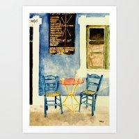 Greek Memories No. 2 Art Print