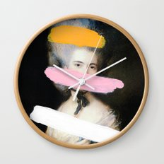 Brutalized Gainsborough 2 Wall Clock