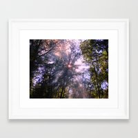 Smoke Signals Framed Art Print
