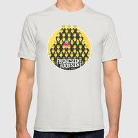 Fluorescent Adolescent ∫ Arctic Monkeys Mens Fitted Tee Silver SMALL