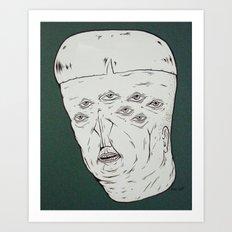 m.h.n.#2 Art Print