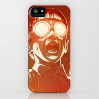 iPhone 5s & iPhone 5 Cases featuring FIREEE! by Dr. Lukas Brezak