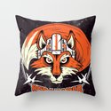Red Leader Throw Pillow