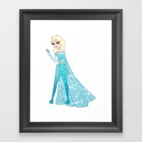 The Snow Queen Framed Art Print