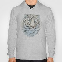 Young White Tiger  Hoody