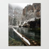 Hanging Lake, White River National Forest CO Canvas Print