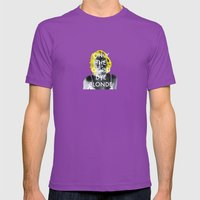 Blondie Mens Fitted Tee Ultraviolet SMALL