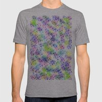 Galaxy Test Mens Fitted Tee Athletic Grey SMALL