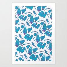 SPACE 3000 Art Print