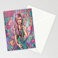Complicated - Avril Lavigne Stationery Cards