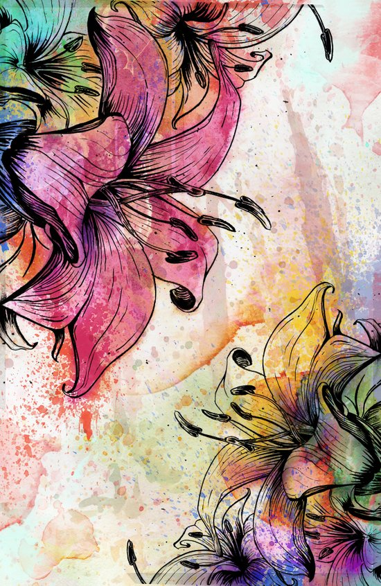 Flowerz Art Print